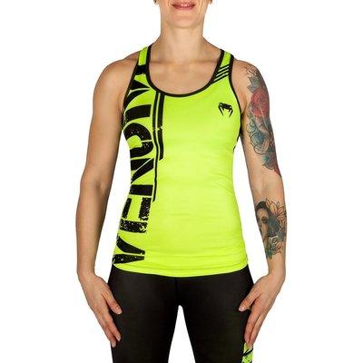 Venum Power Tank Top Hemd Neo Yellow Black Women