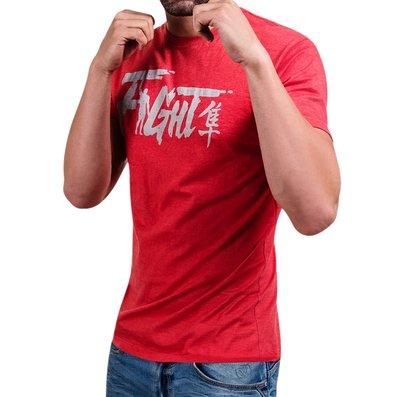 Hayabusa Fight T Shirt Red Vechtsport Kleding Hayabusa