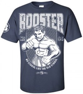 Booster vechtsport t shirt old school navy booster pro for Old navy school shirts