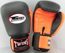 Kickboks Bokshandschoenen Twins BGVL 3 Grey Orange