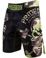 PRIDEorDIE MMA Fight Shorts RAW TRAINING CAMP Jungle